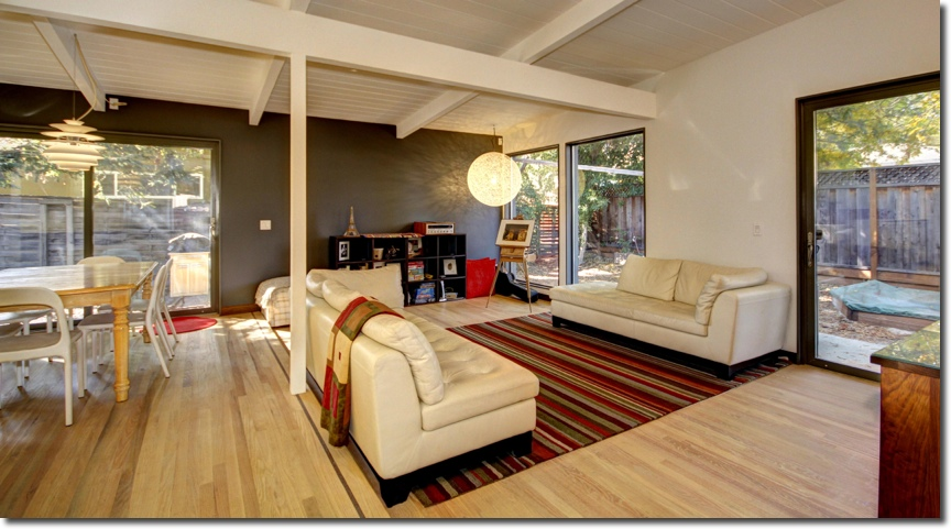 Valley Forge Passive House Family Room